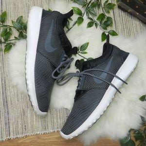 NIKE JUVENATE SM womens sneakers ribbed black gray